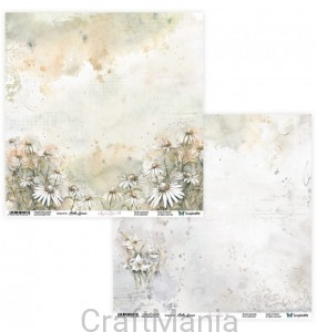 papier do scrapbookingu Aquarelles 09/10