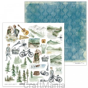 papier do scrapbookingu Summer in Mountains 06