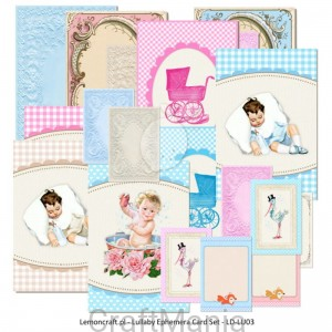 Lullaby Ephemera cards