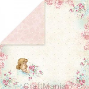 papier do scrapbookingu Shabby Baby 01