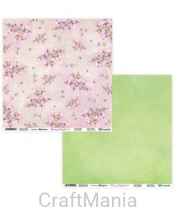 papier do scrapbookingu Blooming Magnolia 11/12