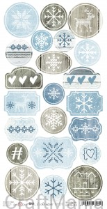 Brrr... it's cold outside - arkusz die cuts