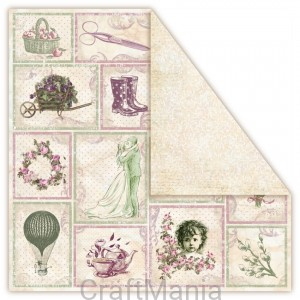 papier do scrapbookingu Desert Rose - DESERT SAND