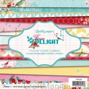 Flower Delight - paper pad