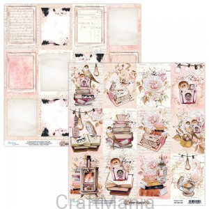 papier do scrapbookingu Dear Diary 06