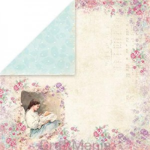 papier do scrapbookingu Shabby Baby 04